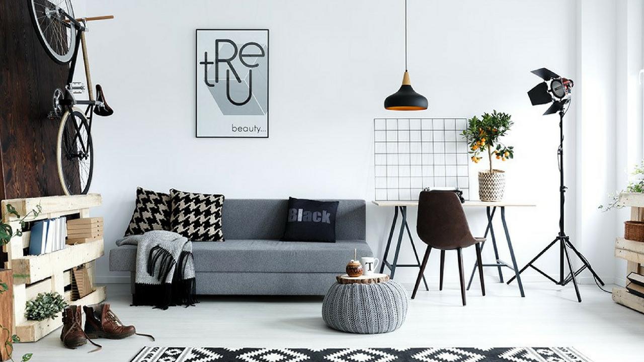 Interior Design Trends monochrome space