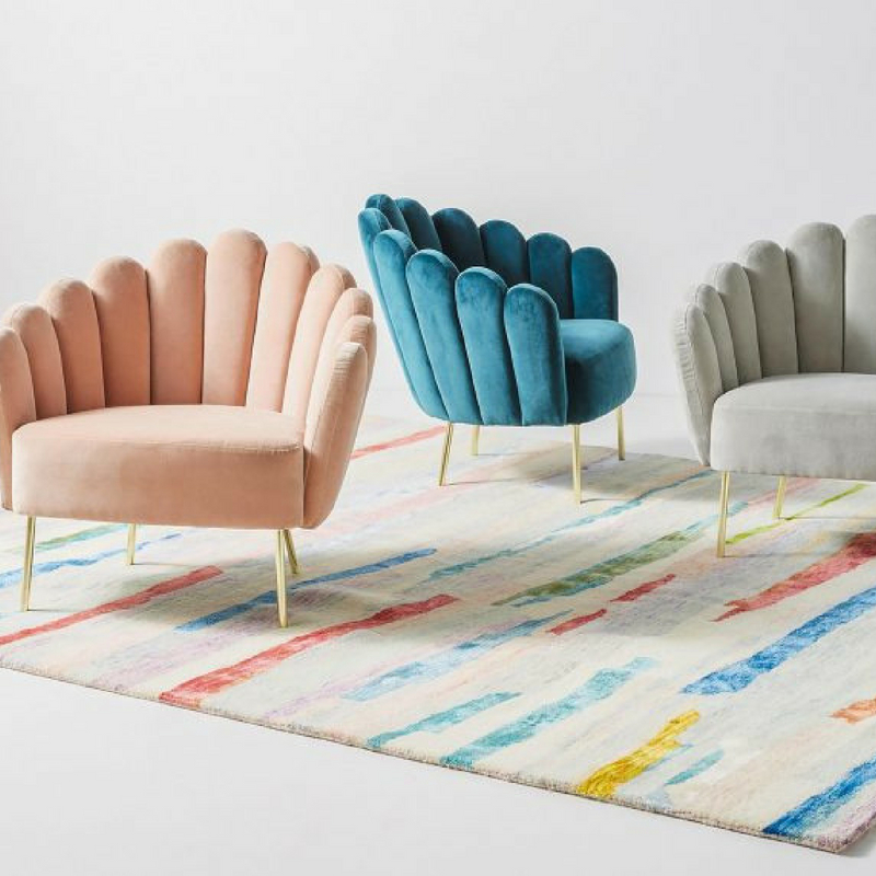 Interior Design Trends colourful furniture accents in a room