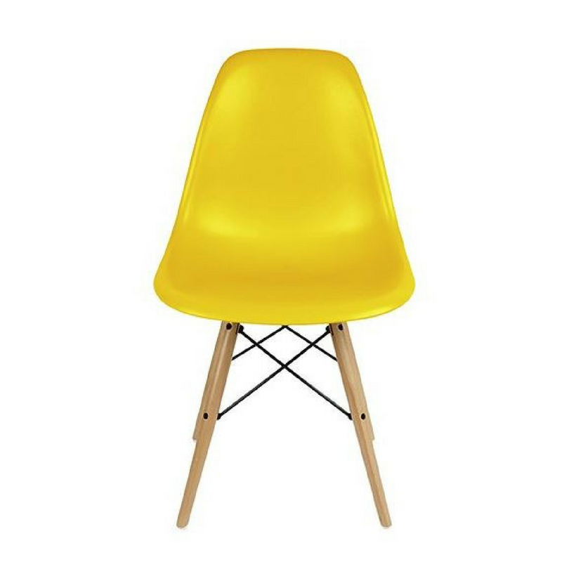 Yellow Accessories Lovely Plastic Bright Yellow Kitchen Chair