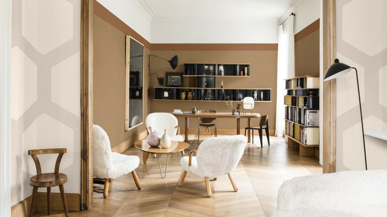 Interior design trends spiced honey interior