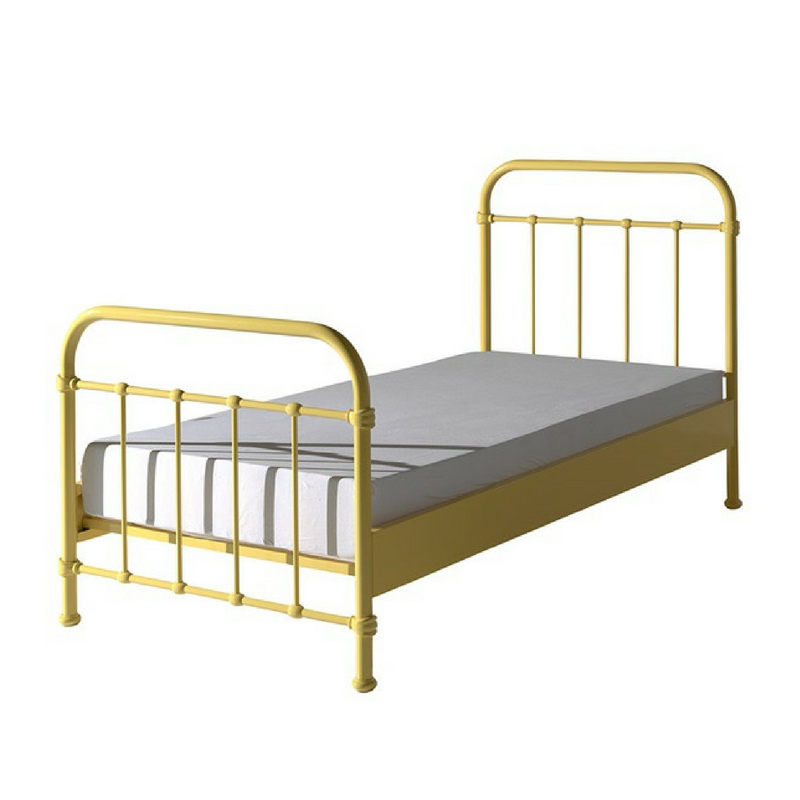 Yellow Accessories Yellow Bed Frame For A Single Bed