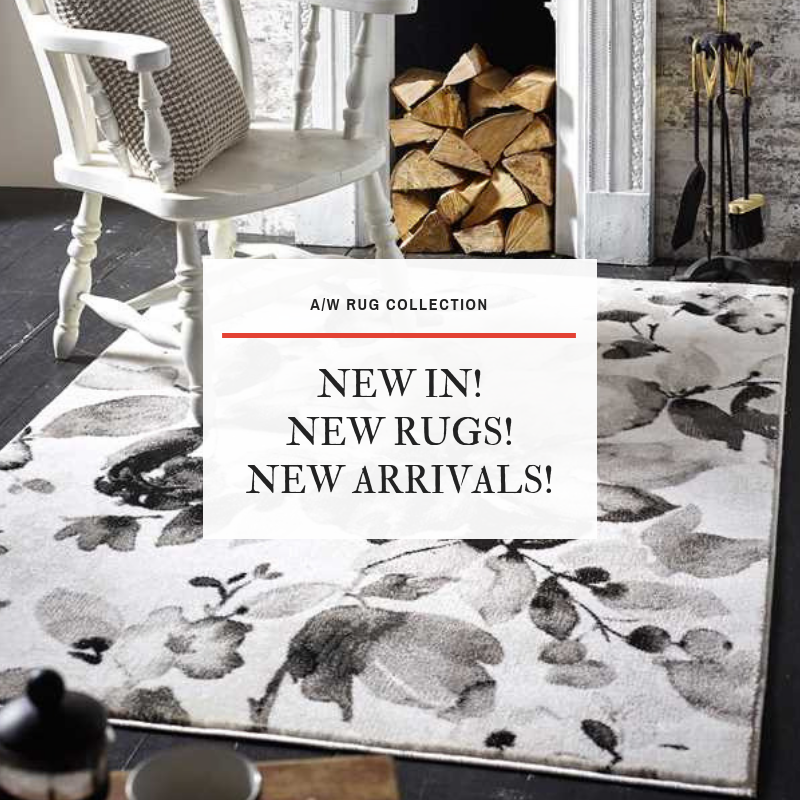 New arrivals New rug arrivals for A/W 2018