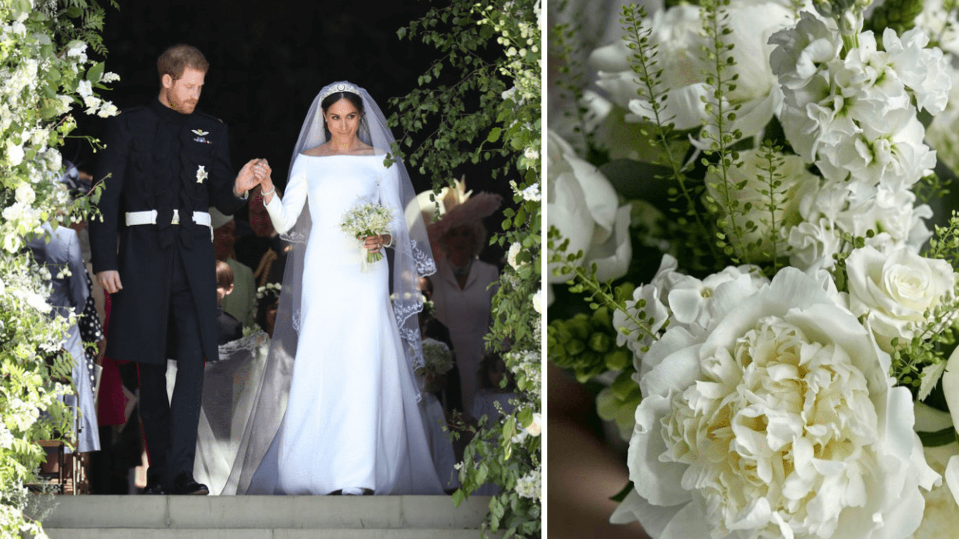 Meghan Markle and Prince Harry Royal Wedding May 2018 and Pretty Florals
