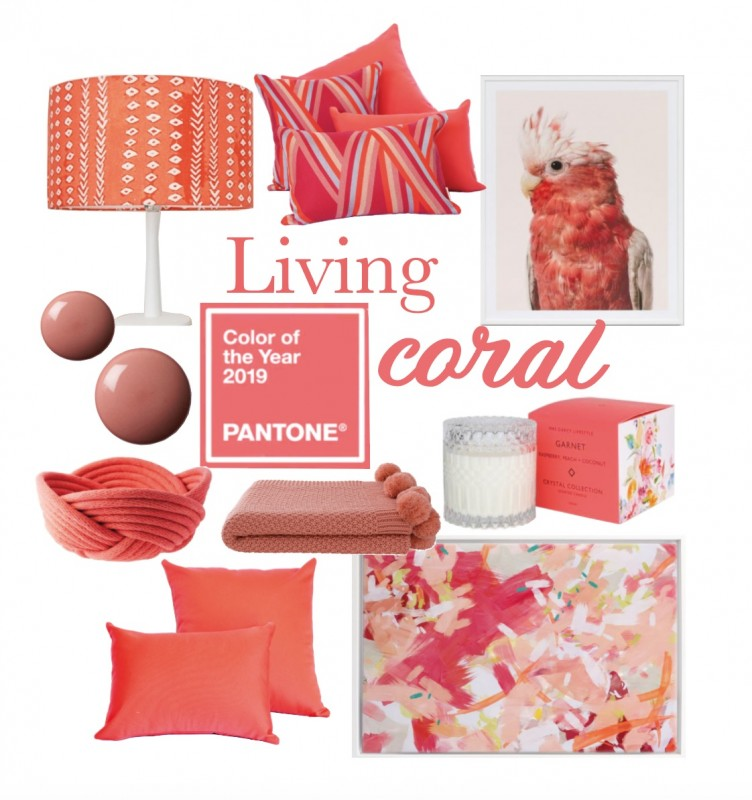 Living Coral | Mood Board