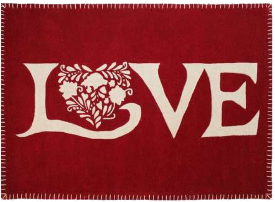 Valentine's Day   Win a Love Rug