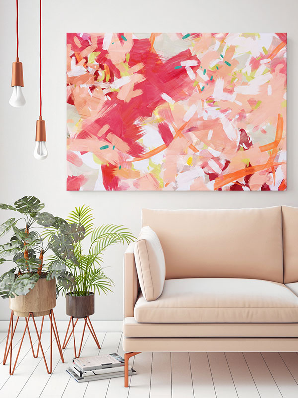 Living Coral | Accessories for Living Room