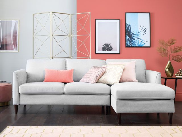 Living Coral | Furniture and Pillow Accents