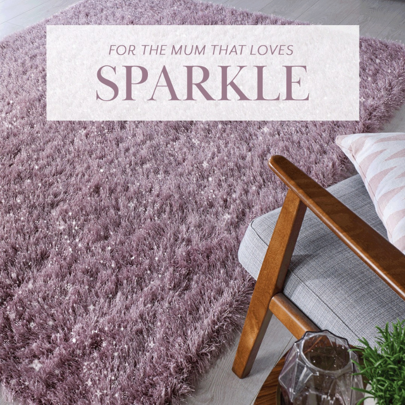 Dazzle Rug in Mauve | Mother's Day Giveaway