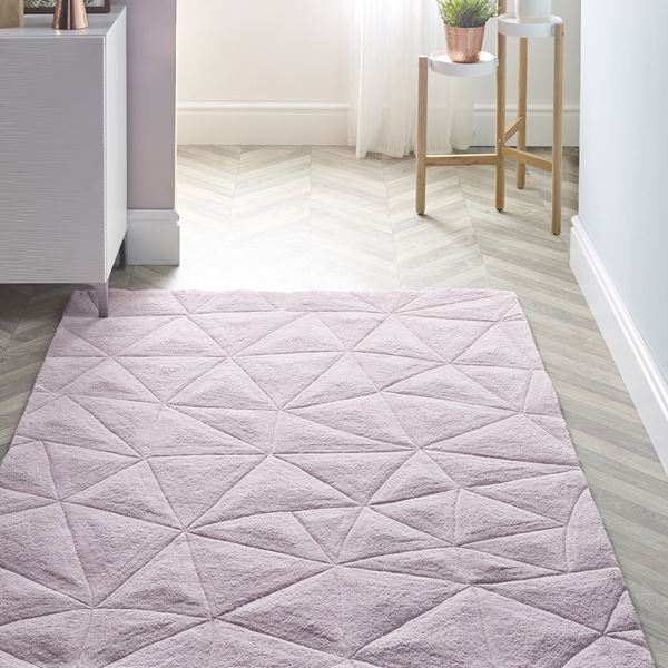 3d Triangles Rugs