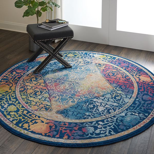 Ankara Global Circluar Rugs