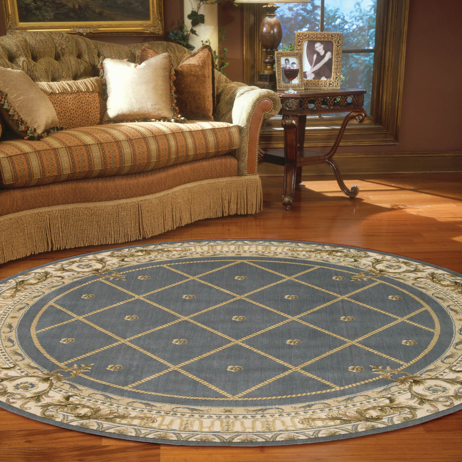 Ashton House Circular Rugs