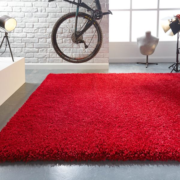 Athena Shine Shaggy Rugs