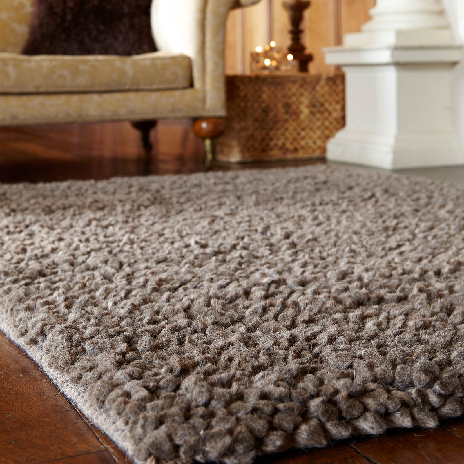 Austria Shaggy Wool Rugs