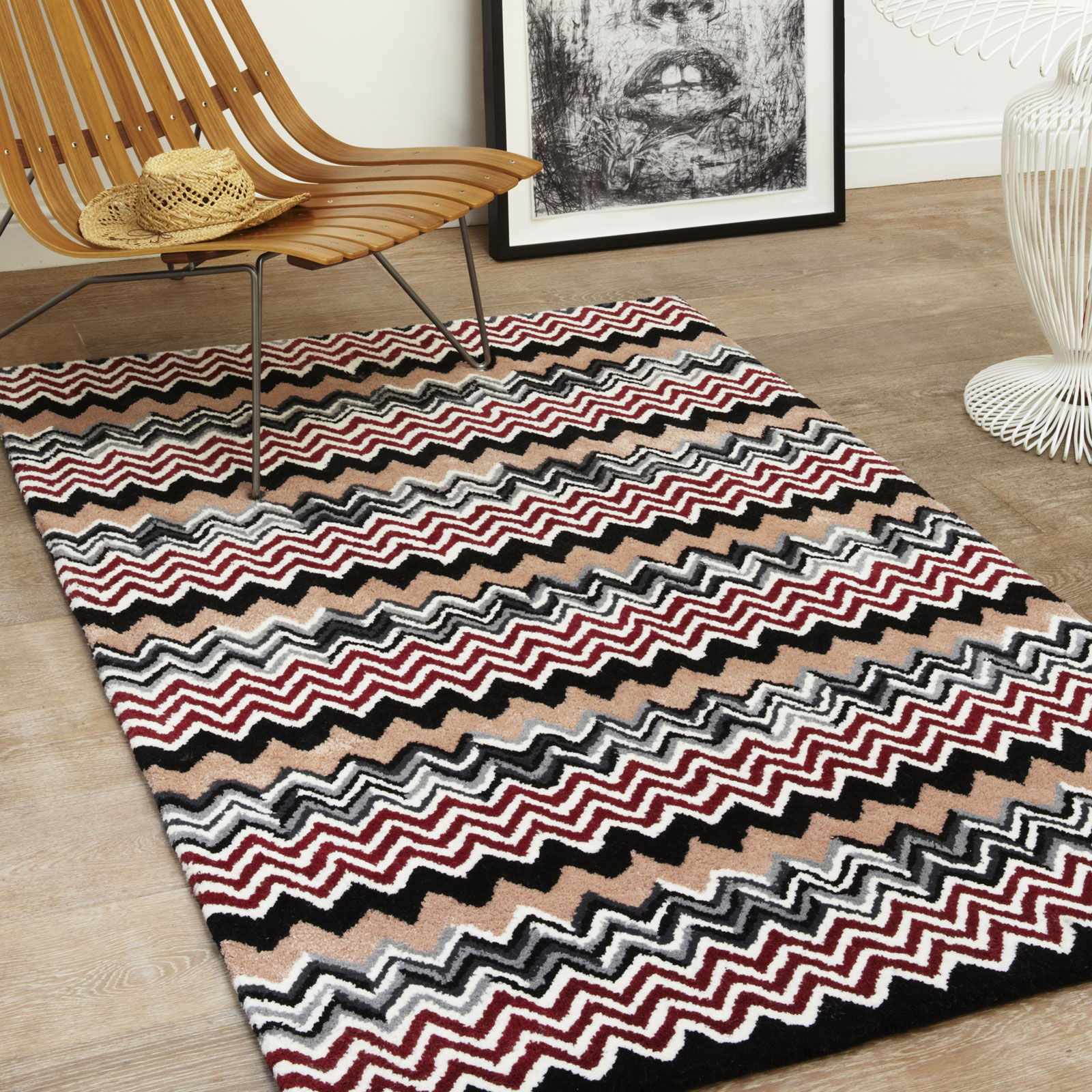 Aztec Wool Rugs