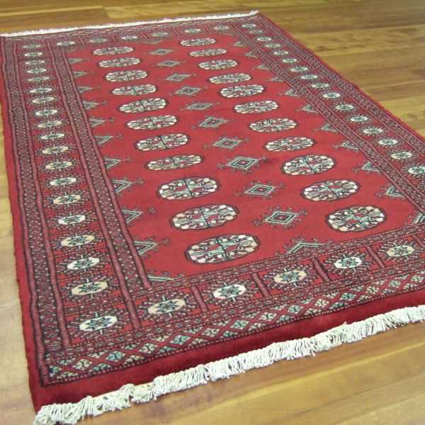 Bokhara Rugs Traditional Hand Knotted Pakistan Wool Rug