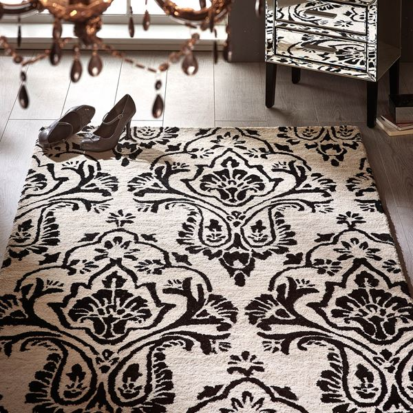 Boutique Damask Rugs