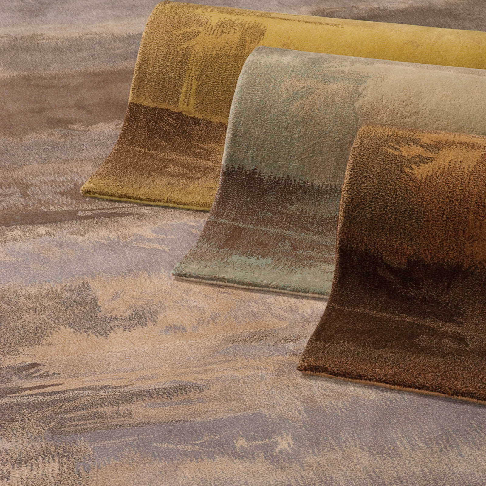 Calvin Klein Luster Wash Rugs