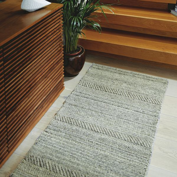 Chunky Knit Wool Hallway Runner