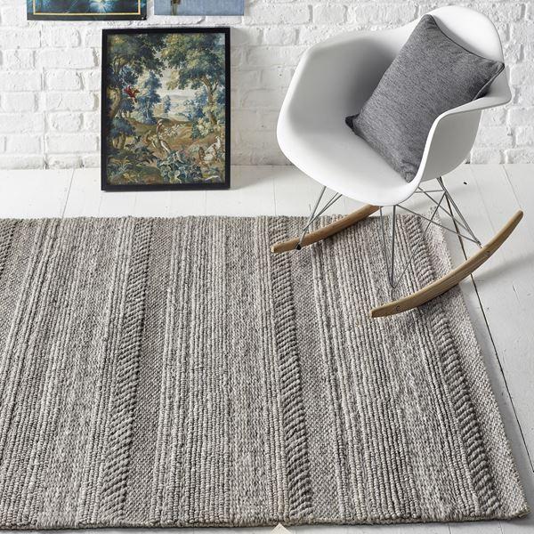 Chunky Knit Wool Rug