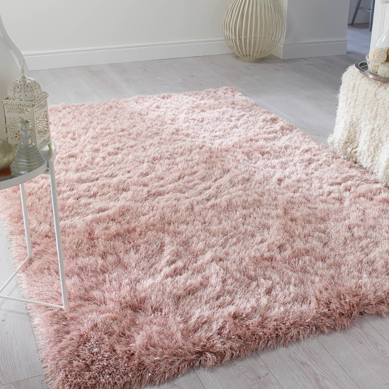 Dazzle Sparkling Shaggy Rugs Free Uk Delivery The Rug