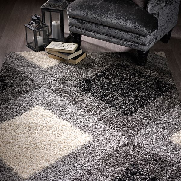 Diamond Shaggy Rugs