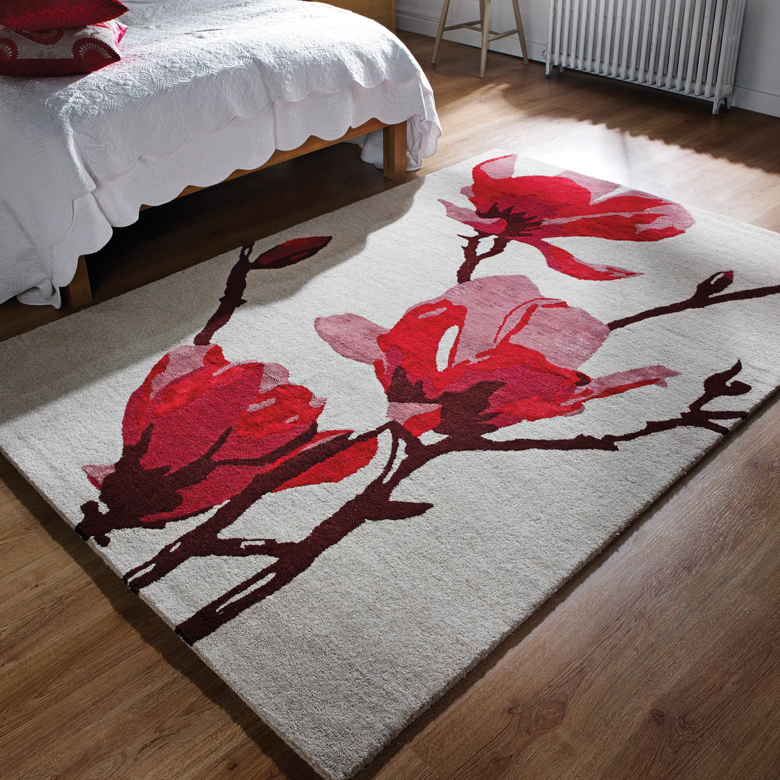 Elegance Floral Wool Rugs
