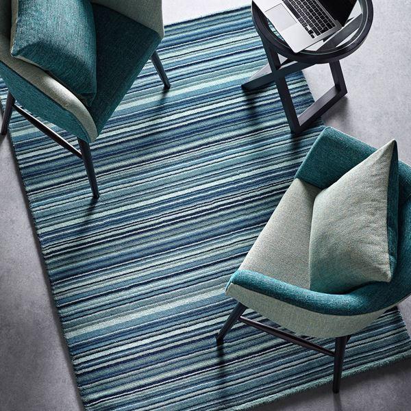 Fine Stripes Wool Rugs