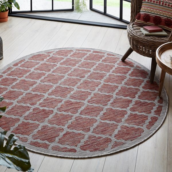 Florence Alfresco Round Rugs