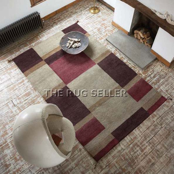 Harlequin Wool Rugs
