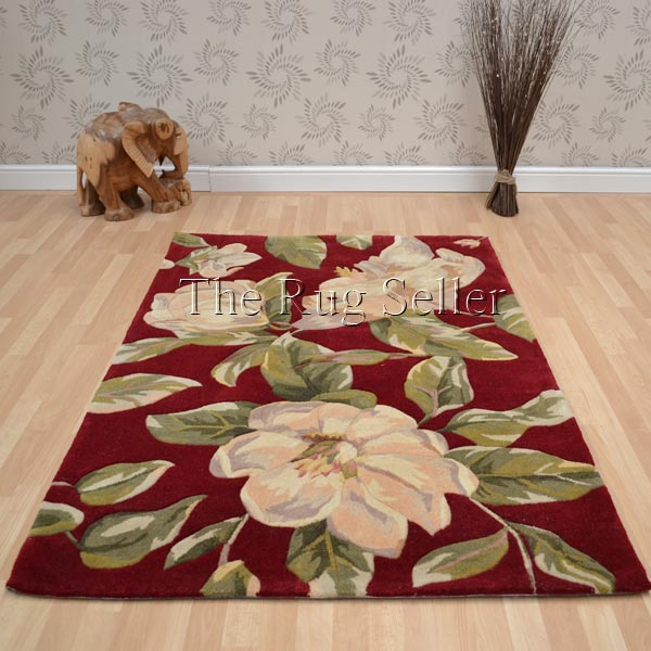 Hawaii Floral Wool Rugs