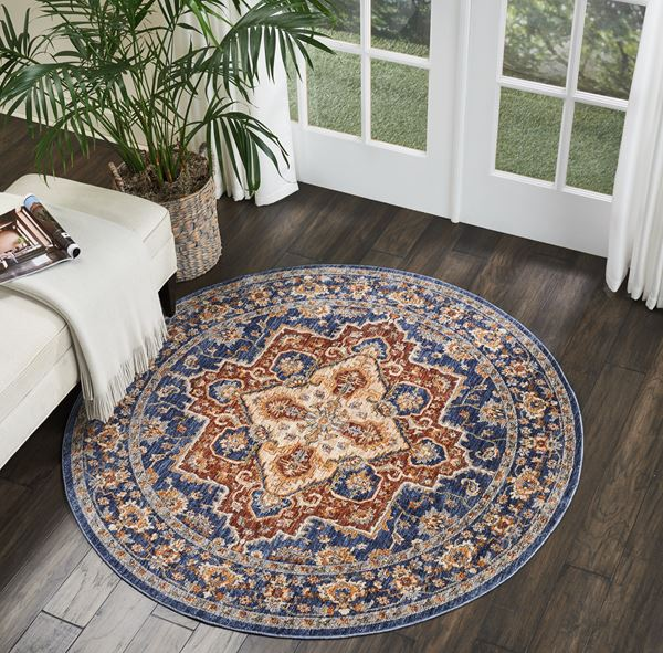Lagos Circular Rugs by Nourison