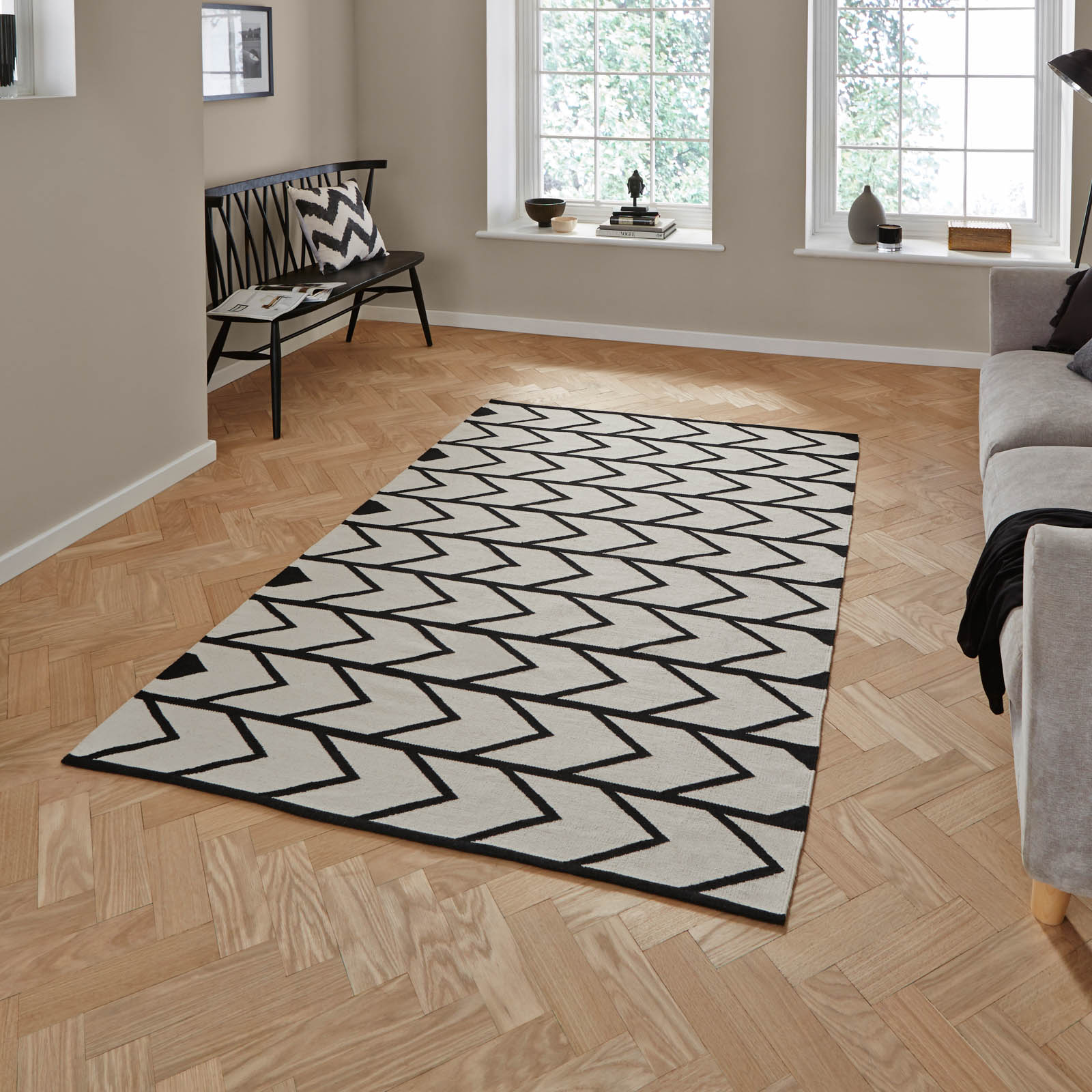 Manhattan Cotton Durrie Rugs