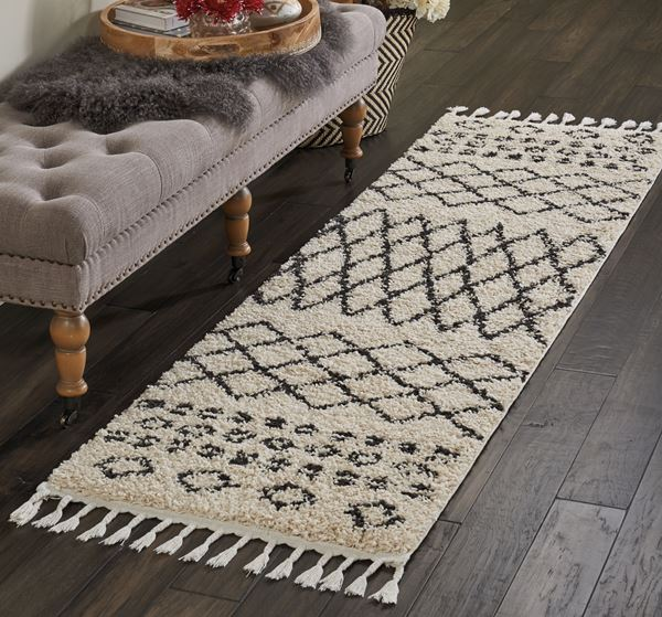 Moroccan Shaggy Runners By Nourison