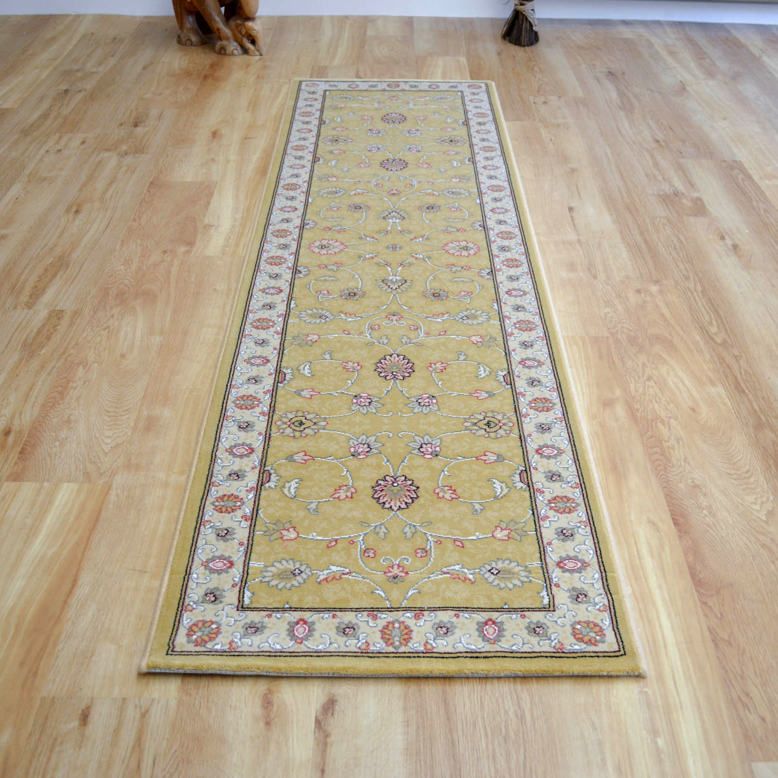Rug Runner Rug: Noble Art Hallway Runners