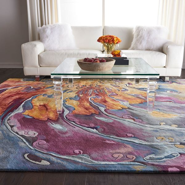 Prismatic rugs by Nourison