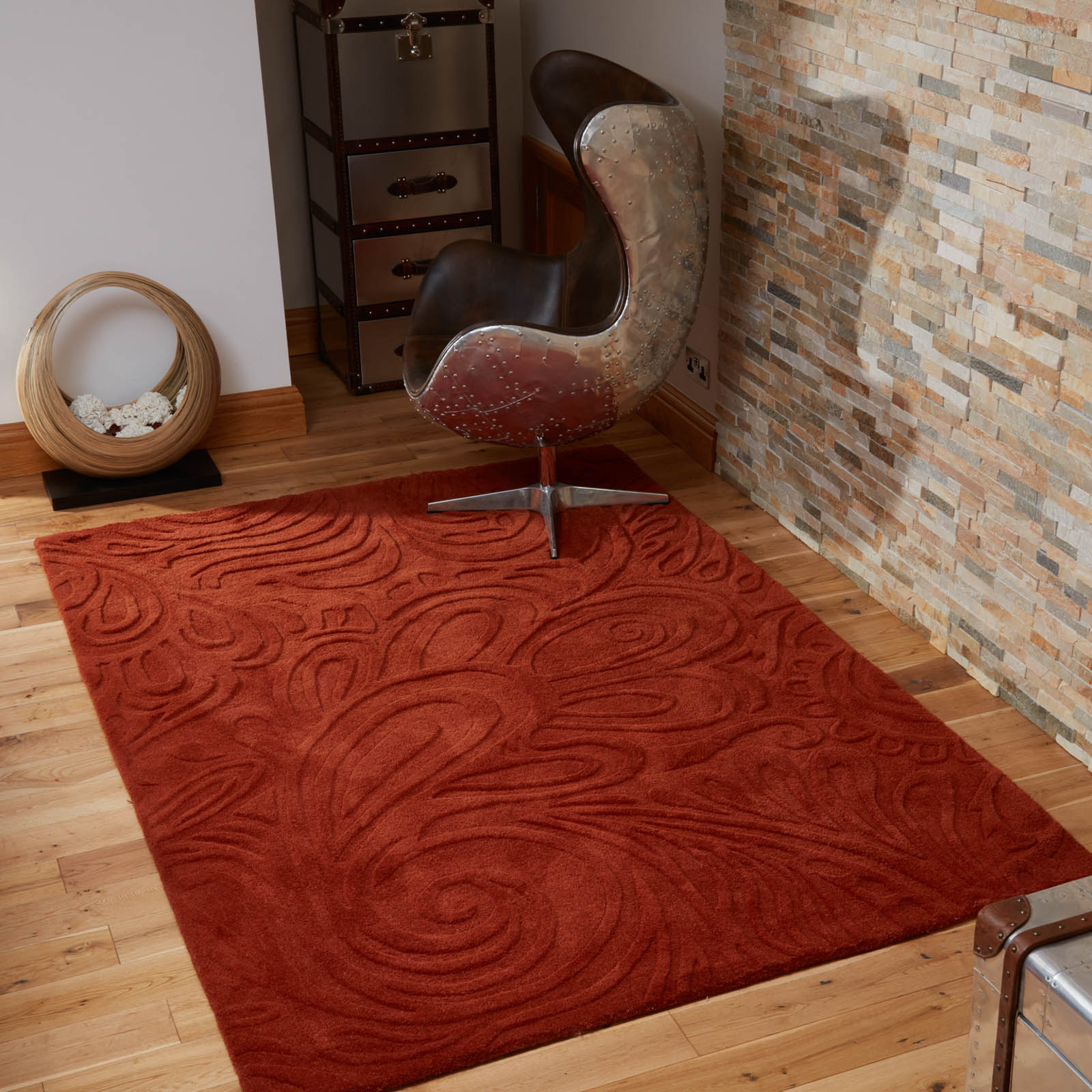 Relief Paisley Rugs
