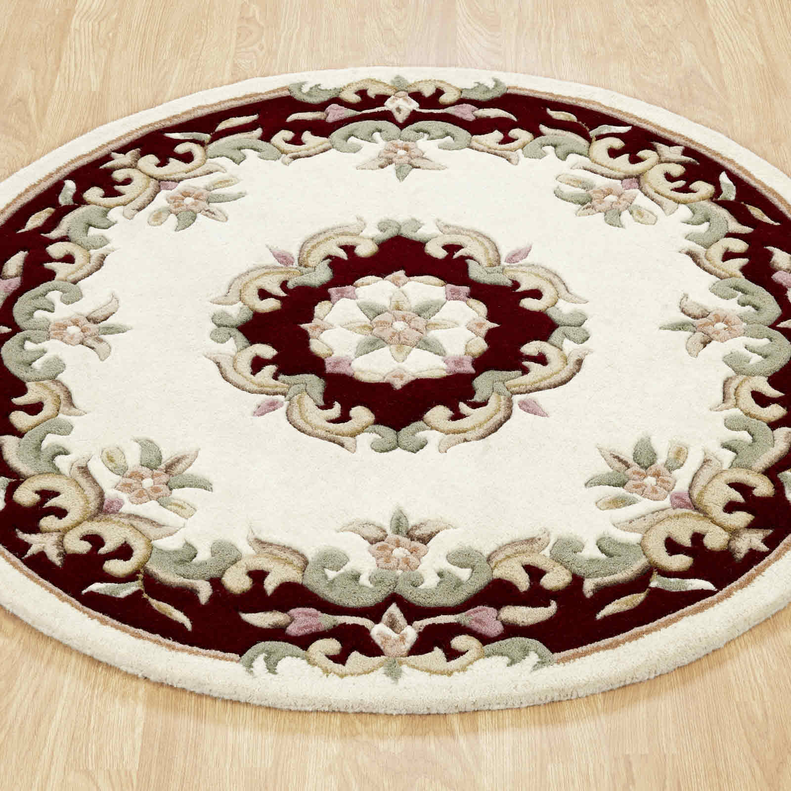 Royal Aubusson Circular Rugs
