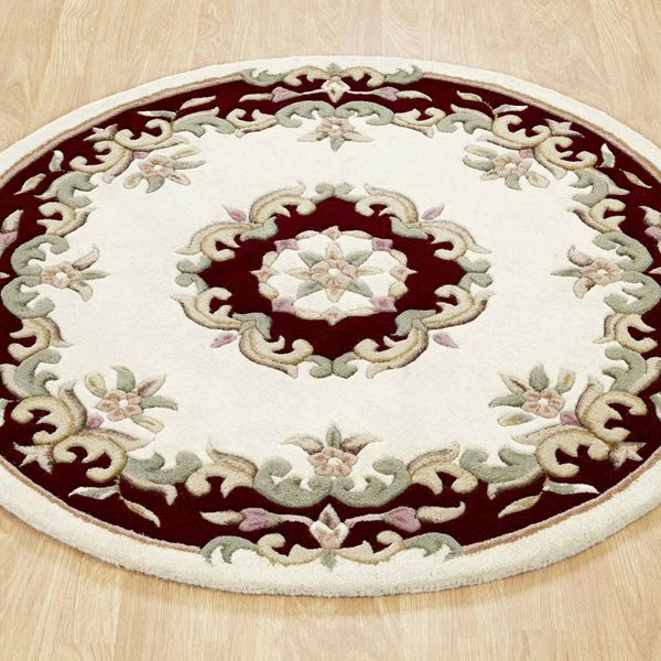 Royal Aubusson Circular Rugs