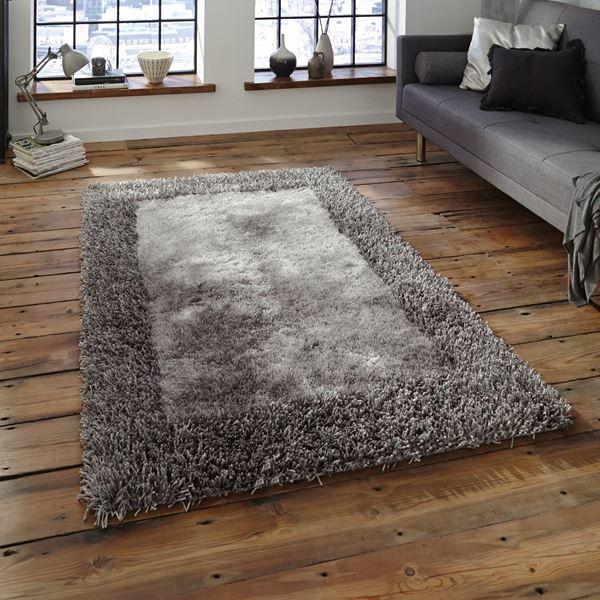 sable shaggy rugs
