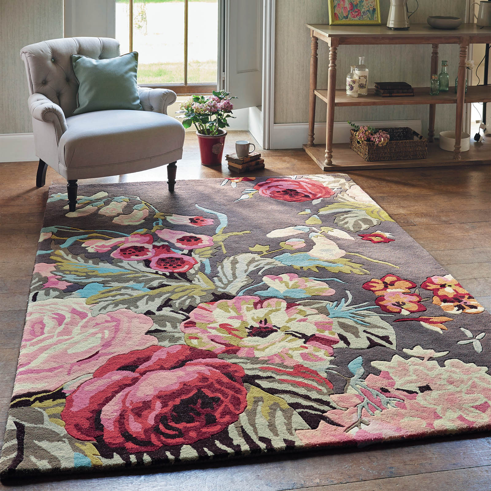 Sanderson Rugs Shop Online With Free Delivery At The Rug