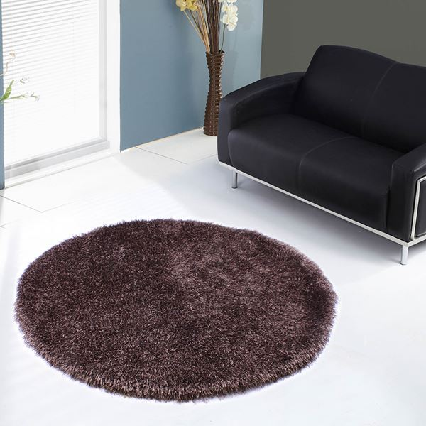 Shaggy Circle Rugs