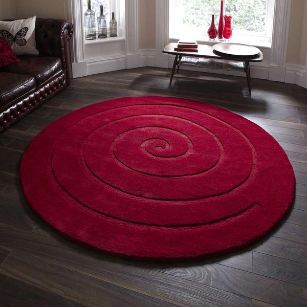 Spiral Circular Rugs