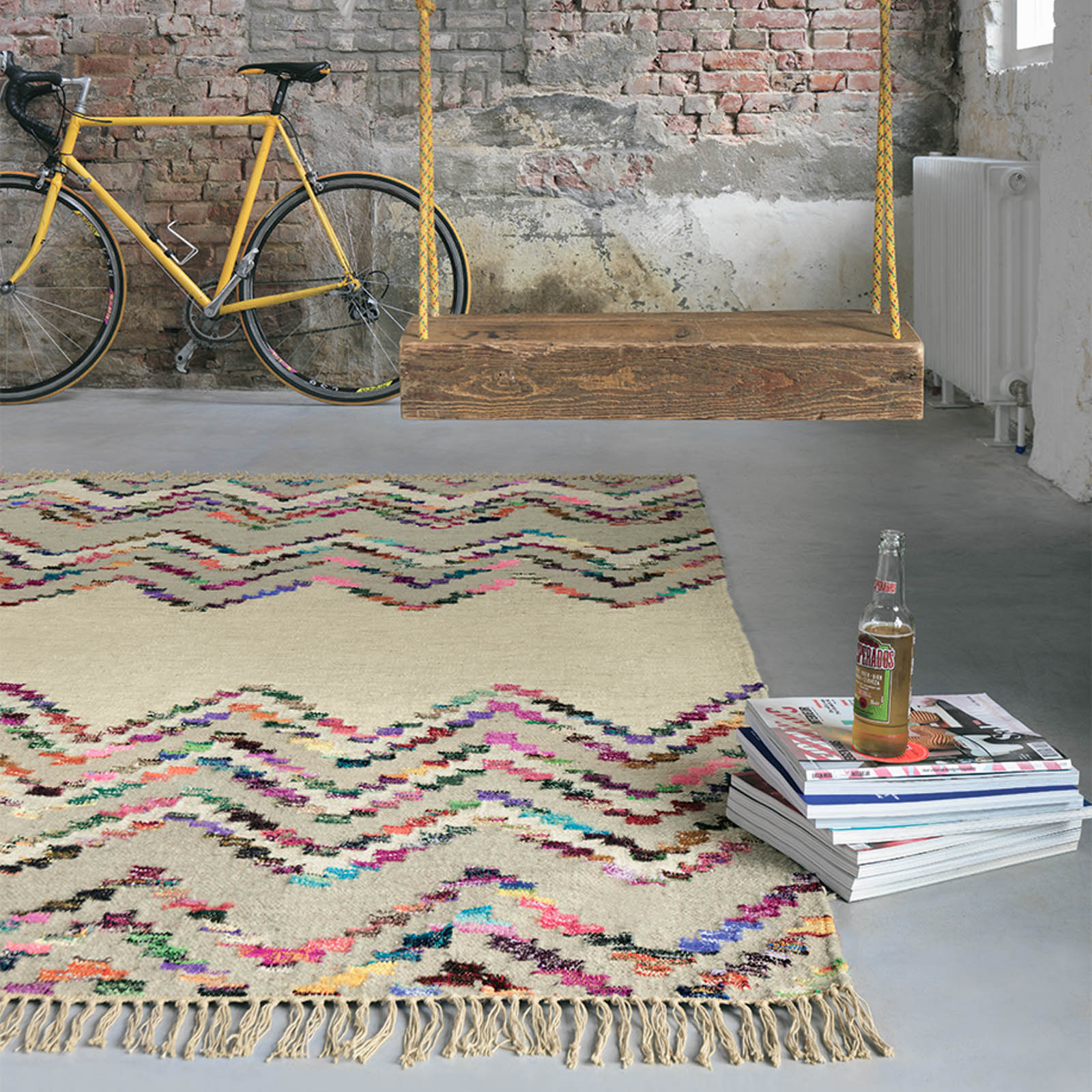 Tika Flatweave Rugs by Brink and Campman