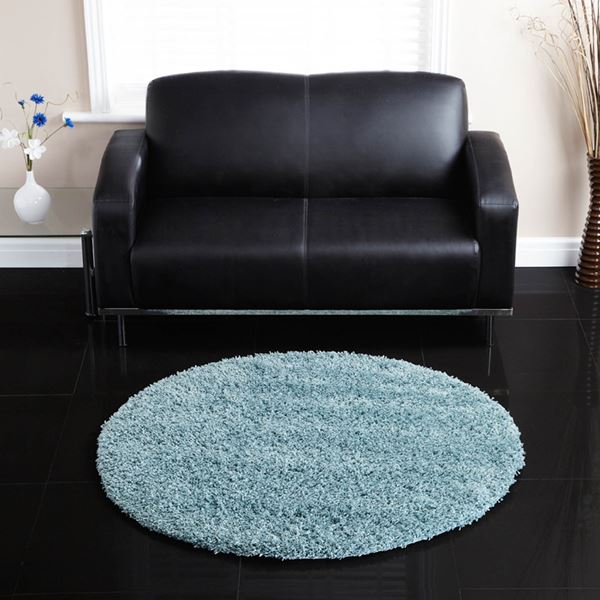 Ultimate Comfort Round Shaggy Rugs