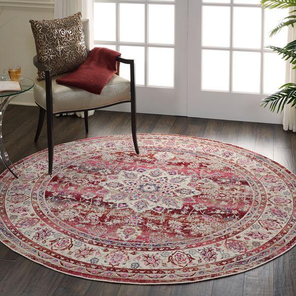 Vintage Kashan Circular rugs