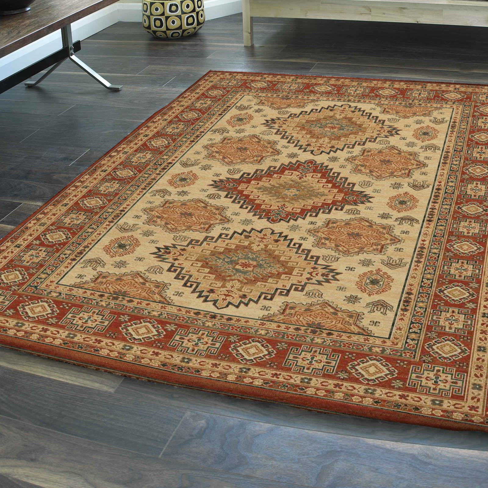 Discover our extensive collection of extra-large rugs online at Land of Rugs. Designs ranging from modern to classic, all with free mainland UK delivery.