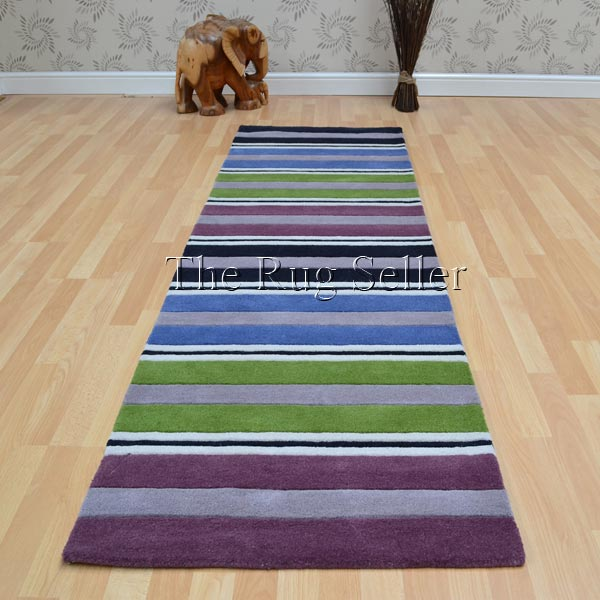 Wool Stripes Hallway Runners