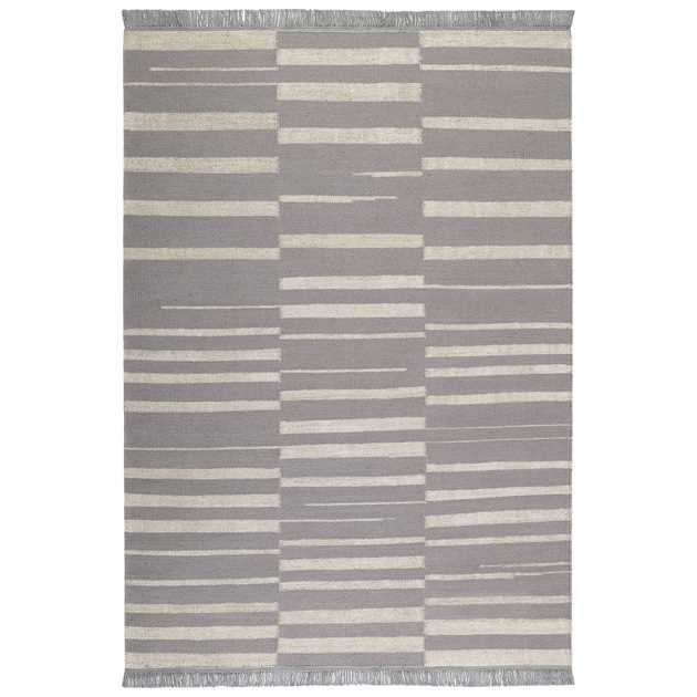 Skid Marks Rugs 0009 03 by Carpets & Co in Grey and Ice Blue