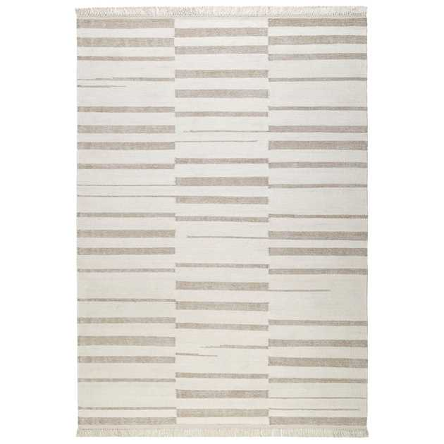 Skid Marks Rugs 0009 04 by Carpets & Co in Beige