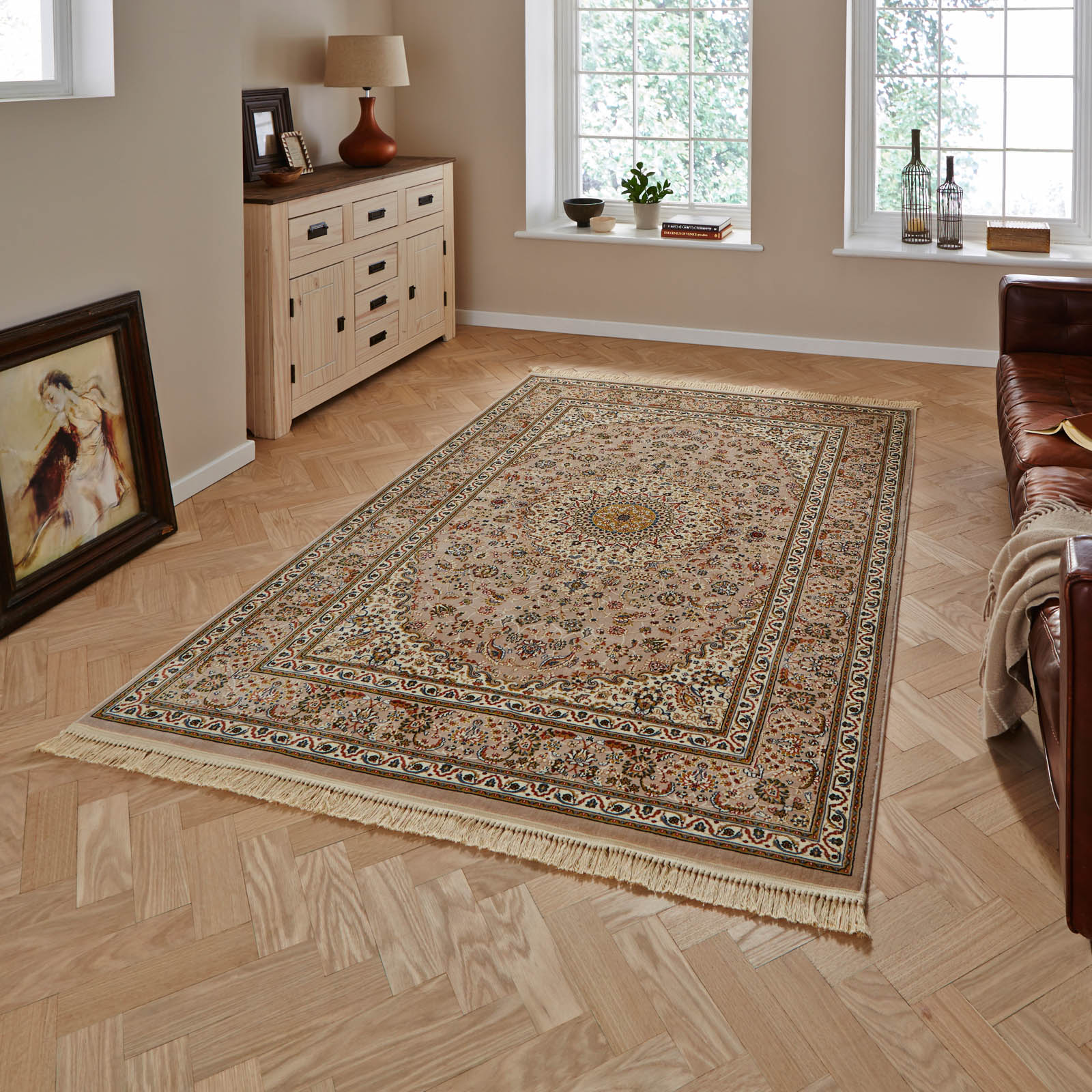 Regal 0227A Rugs in Beige